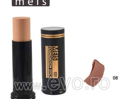 Baton Fond de Ten , MEIS - Foundation Stick, 15 g - 08 Ten Masliniu sau Bronzat