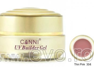 Gel uv natural 15ml CANNI GOLD - 304 Thin Pink