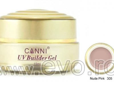 Gel uv natural 15ml CANNI GOLD - 305 Nude Pink
