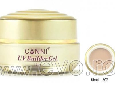 Gel uv natural 15ml CANNI GOLD - 307 Khaki