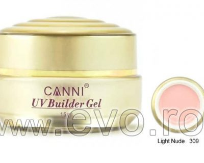 Gel uv natural 15ml CANNI GOLD - 309 Light Nude