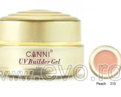 Gel uv natural 15ml CANNI GOLD - 310 Peach