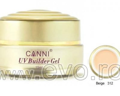 Gel uv natural 15ml CANNI GOLD - 312 Beige
