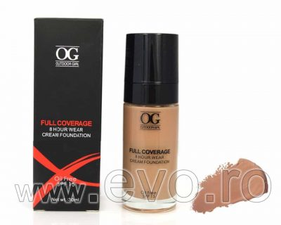 Fond de Ten Full Coverage cu SPF 15 30 ml - #06 ten masliniu sau bronzat