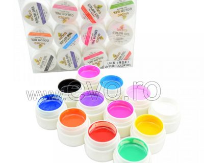 Gel color GDCOCO set 12 - Pure Colors