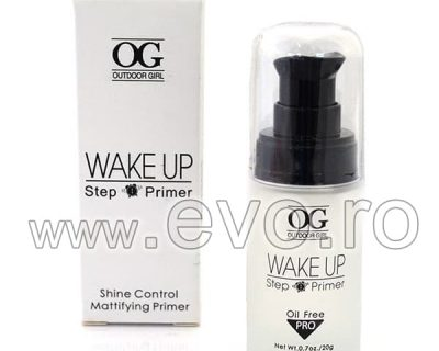OUTDOOR GIRL WAKE-UP PRIMER MINERAL BAZA DE MACHIAJ - TRANSPARENT - SHINE CONTROL