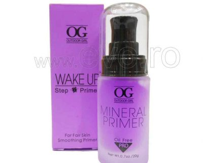 OUTDOOR GIRL WAKE-UP PRIMER MINERAL BAZA DE MACHIAJ - MAUVE - COLOR CORRECTS