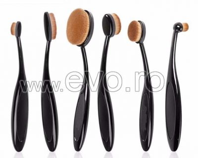 SET 6 PENSULE MACHIAJ MASTERCLASS – CURVE BRUSHES BEAUTY MAKE-UP