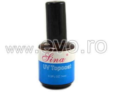 Top Coat Unghii UV Gel SINA 14 ml - Gel de Finish Topcoat