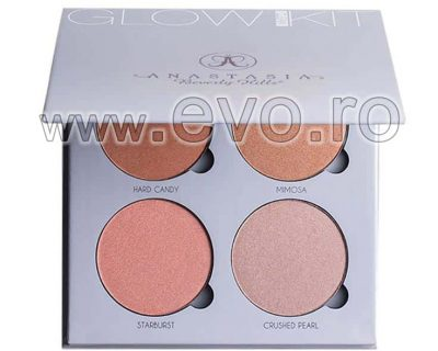 Trusa Blush & Bronzer 4 culori - Gleam Glow Kit